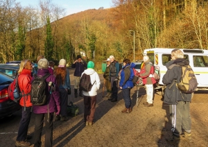 Meeting at Cwmcarn