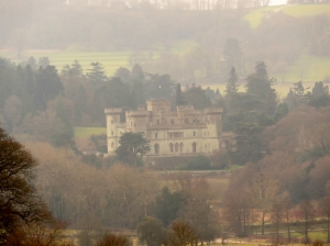 Eastnor Castle through the mist