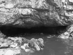 Entrance to Porth yr Ogof