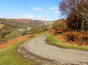 Up the valley to Bedlinog