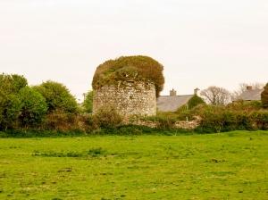 Ruined dovecote Nash Grange