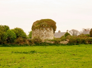 Ruined dovecote Nash Grange