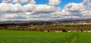 View across Corntown