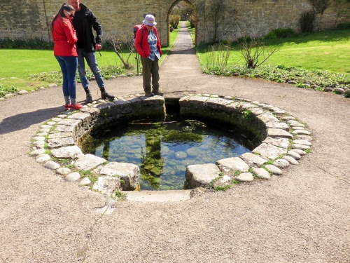Well in Dunraven garden
