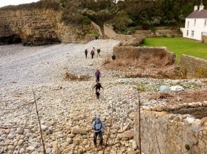 Crossing Tresilian Bay