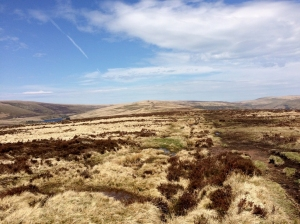 Ridgeway looking towards Grwyne Fawr reservoir