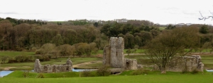 Ogmore Castle ruins