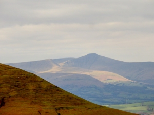 Central Beacons in sunshine