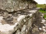 Worn steps on preaching cross