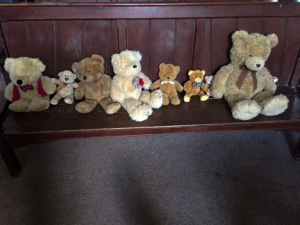 Teddies at St Mary the Virgin Church