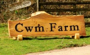 Entrance to Cwm Farm