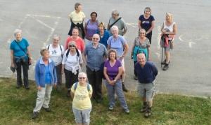 Group at Barry Island Car park