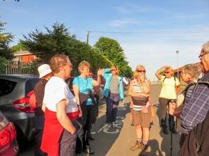 Meeting at Penarth Cliff top