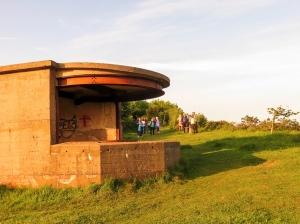 Forward observation post Lavernock Nature Reserve