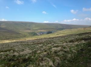 Northern escarpment