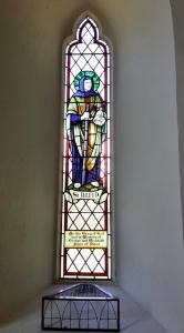 St Illtyd - stainedglass window