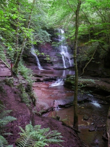 Main waterfall Pwll y Wrach