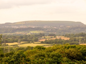 Garth Hill in the distance