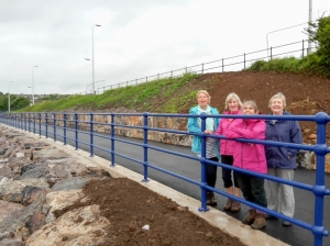 New walkway from Car park to Causeway