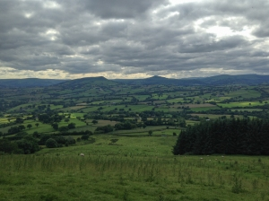 View of Black Mountains