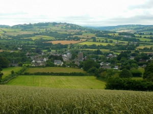 Overlooking Talgarth