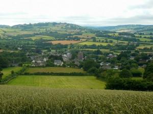 Overlooking Talgarth