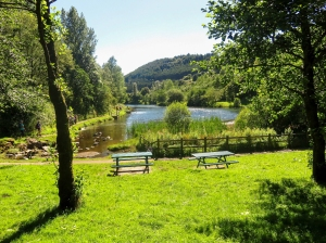 Cwmtillery lower lake