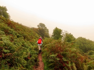 climbing along the beacons way