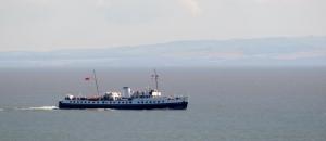 Balmoral paddle steamer
