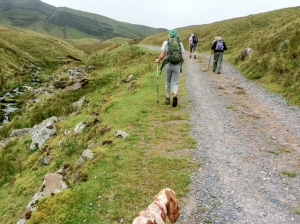 journeying up to llyn y fan fach