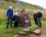 memorial below waun rydd