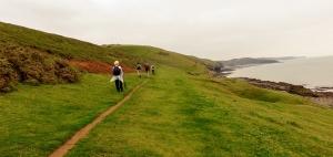 coast path ogmore by sea