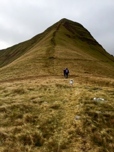 northern face of cribyn