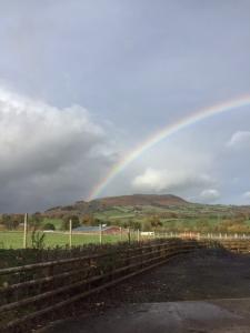 rainbow over ysgyryd fawr