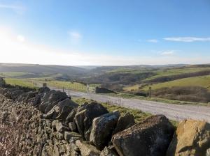 view across cwm ogwr fawr