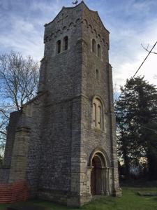 bell tower at st thomas church