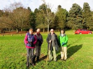 the gang at glyns tree