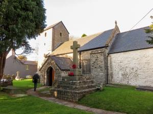 old village church (St Cadocs) cadoxton