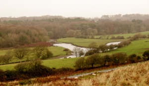 overlooking rivers ogmore and ewenny