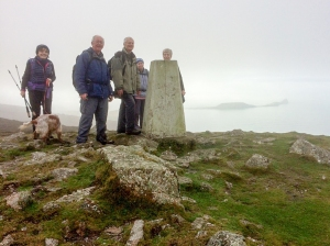 trig point rhossili down
