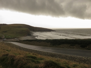 rain over dunraven bay