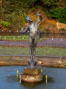 statue of joyance - thompsons park