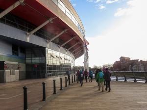 passing the principality stadium