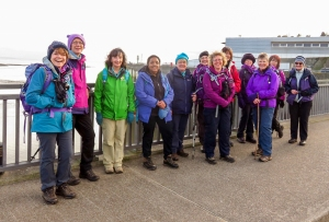 the gang on cardiff barrage