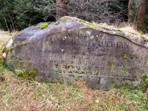 billy vaughan memorial stone