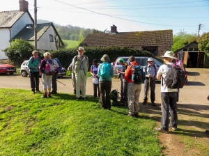 Gathering at Skenfrith