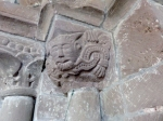 The Green Man carving