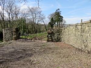 Old entrance to Treferig House