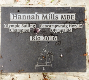 Plaque to Hannah Mills