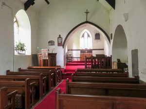 Interior St Illtyd's Church
